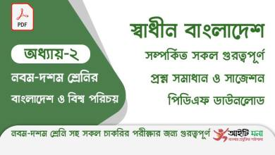 ssc-bangladesh-and-global-studies-chapter-2-pdf-download
