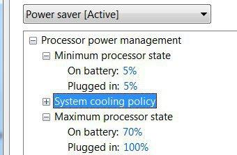 4 setari avansate power management Reducerea consumului bateriei la laptop