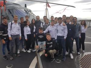 A.S. 2018/2019 - Visita fregata Rizzo  - Classe IVA  CMN