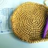 クラフトクラブの帽子(1):編み始めました&指定糸と違うもので編むときはどうするか問題