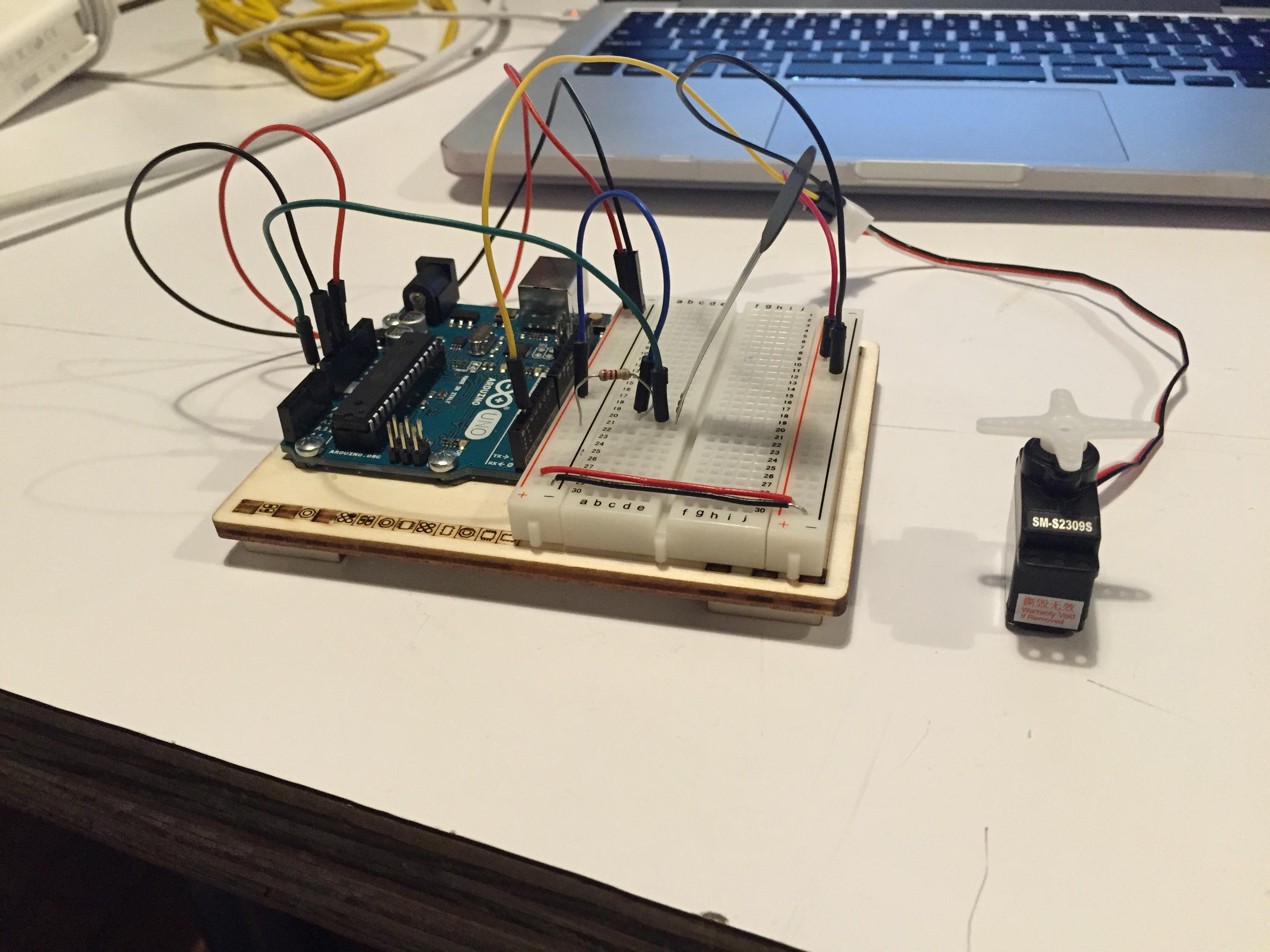 PComp: Servo Motor and Speaker Labs