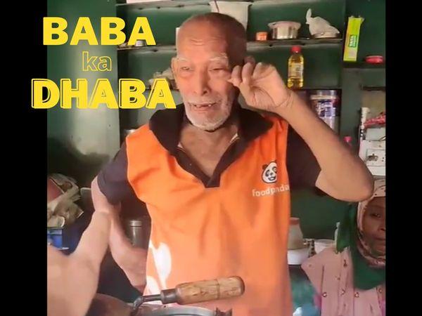 Social Media changed life of Baba ka Dhaba