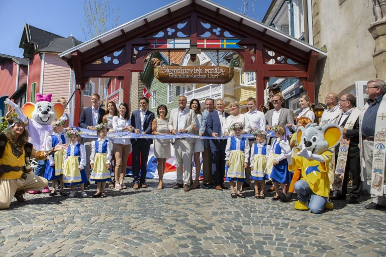 Europa Park: riapre l'area della Scandinavia