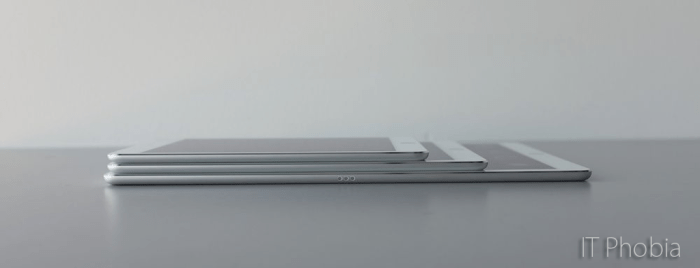 iPad Pro 9.7 review Thickness