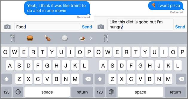 iPhone Emoji Keyboard Emoji Type