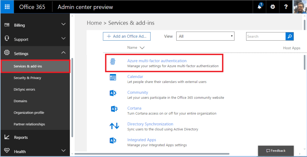 How-to set up Multi-factor Authentication for Office 365