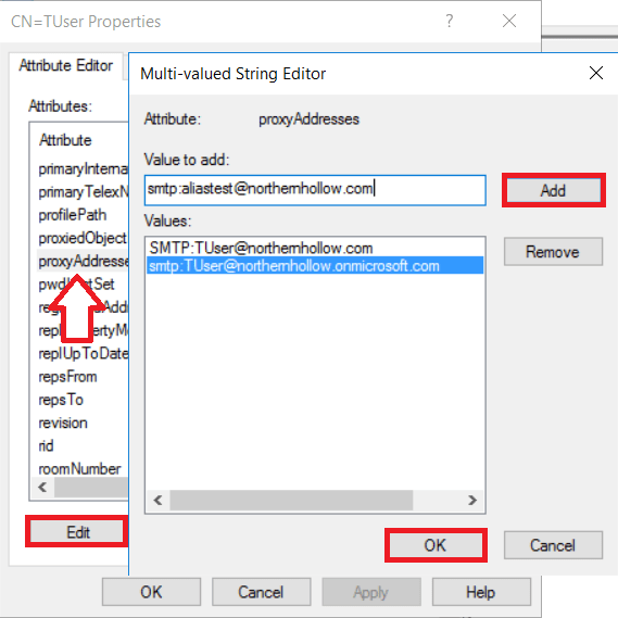 Manage Office 365 Mailboxes using Directory Synchronization