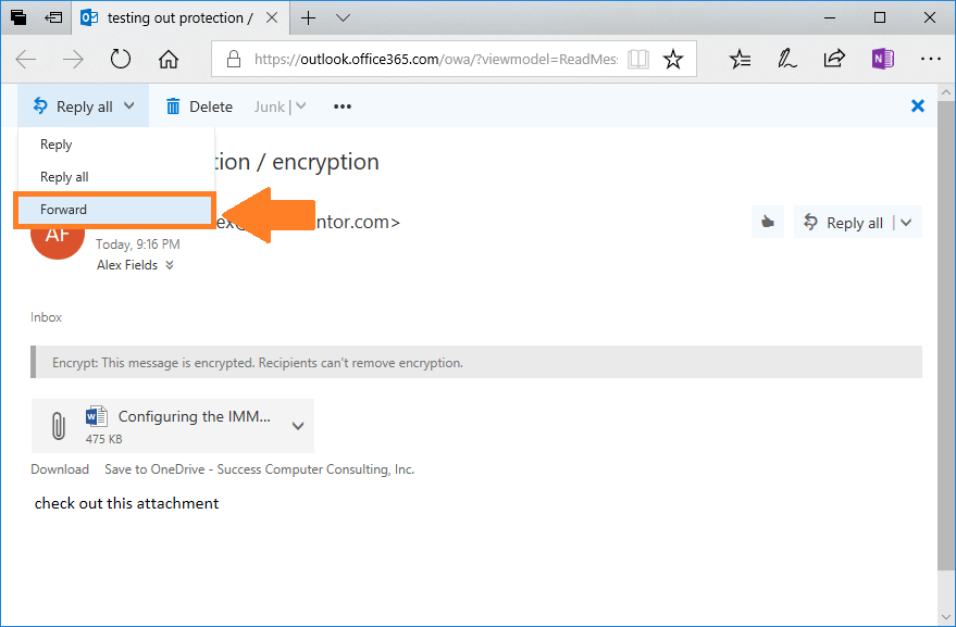New OME Encryption Template, Criticism Revisited… – ITProMentor
