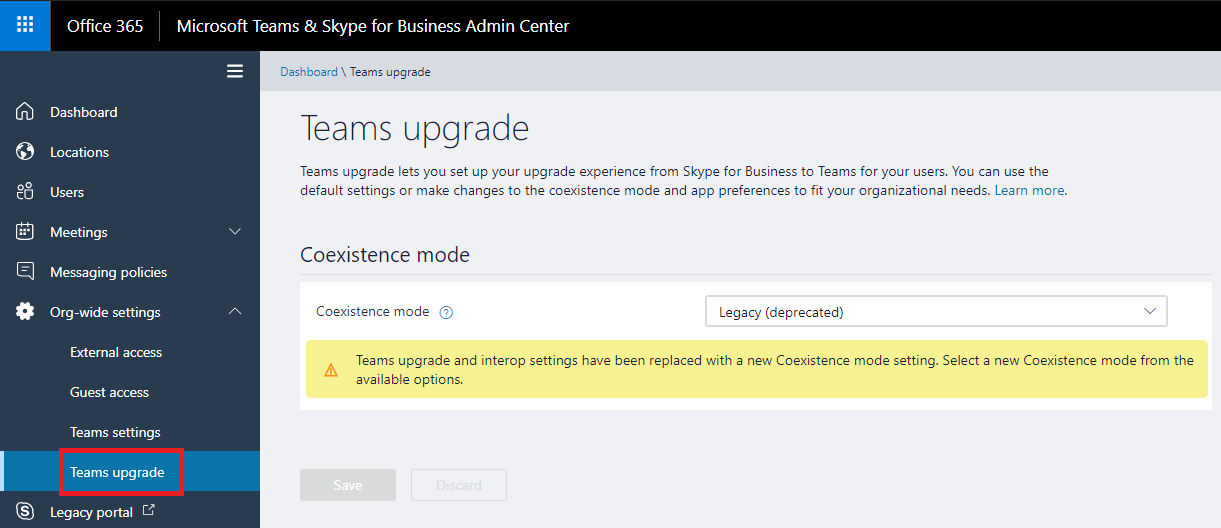 Prepare for the Upgrade from Skype for Business to Microsoft