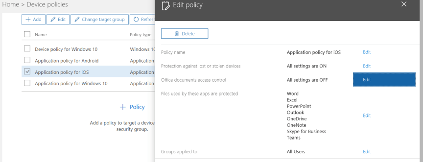 How to configure Mobile Application Management (MAM) with Microsoft
