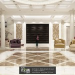 Classic Reception Marble Work 3d Wall Panels And Cnc Wood Itqan 2010