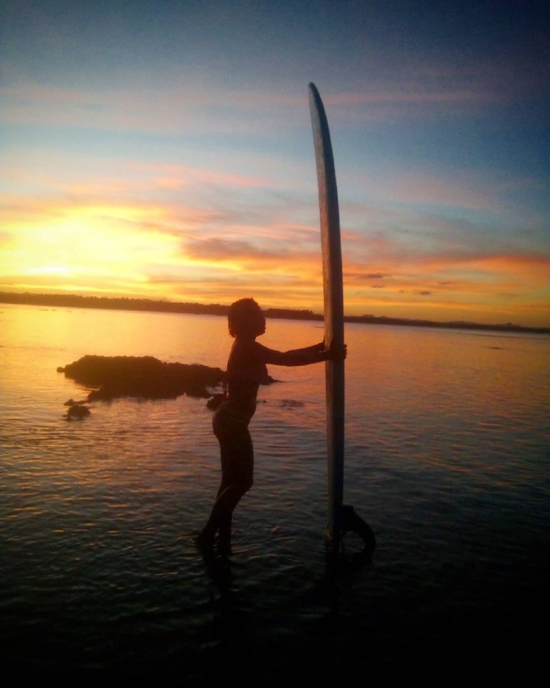 sunset surfing here in siargao for more than 3 hourshellip