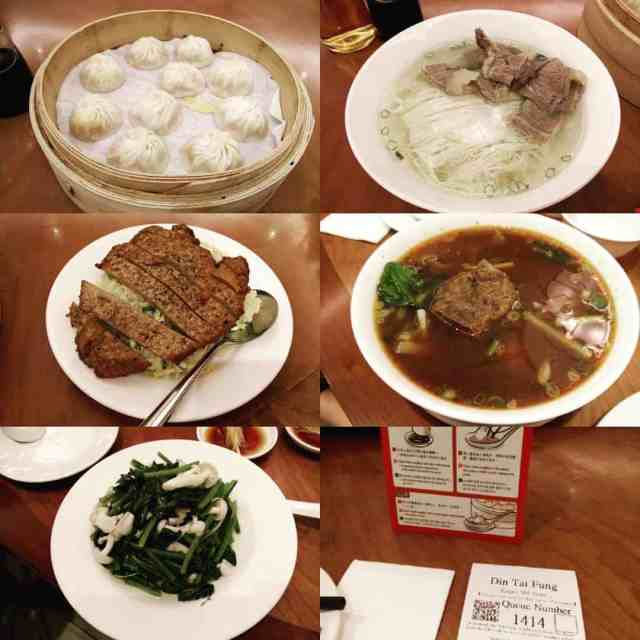 heavy dinner at DinTaiFung do I need to say more?hellip