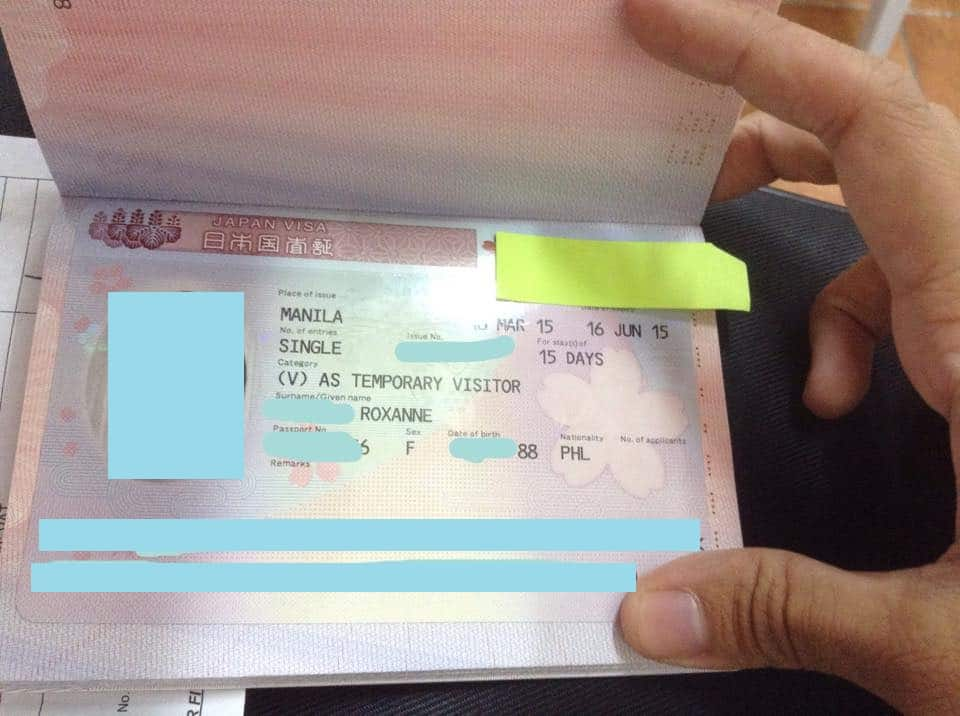 Getting Japan Tourist Visa in the Philippines without Income Tax Return