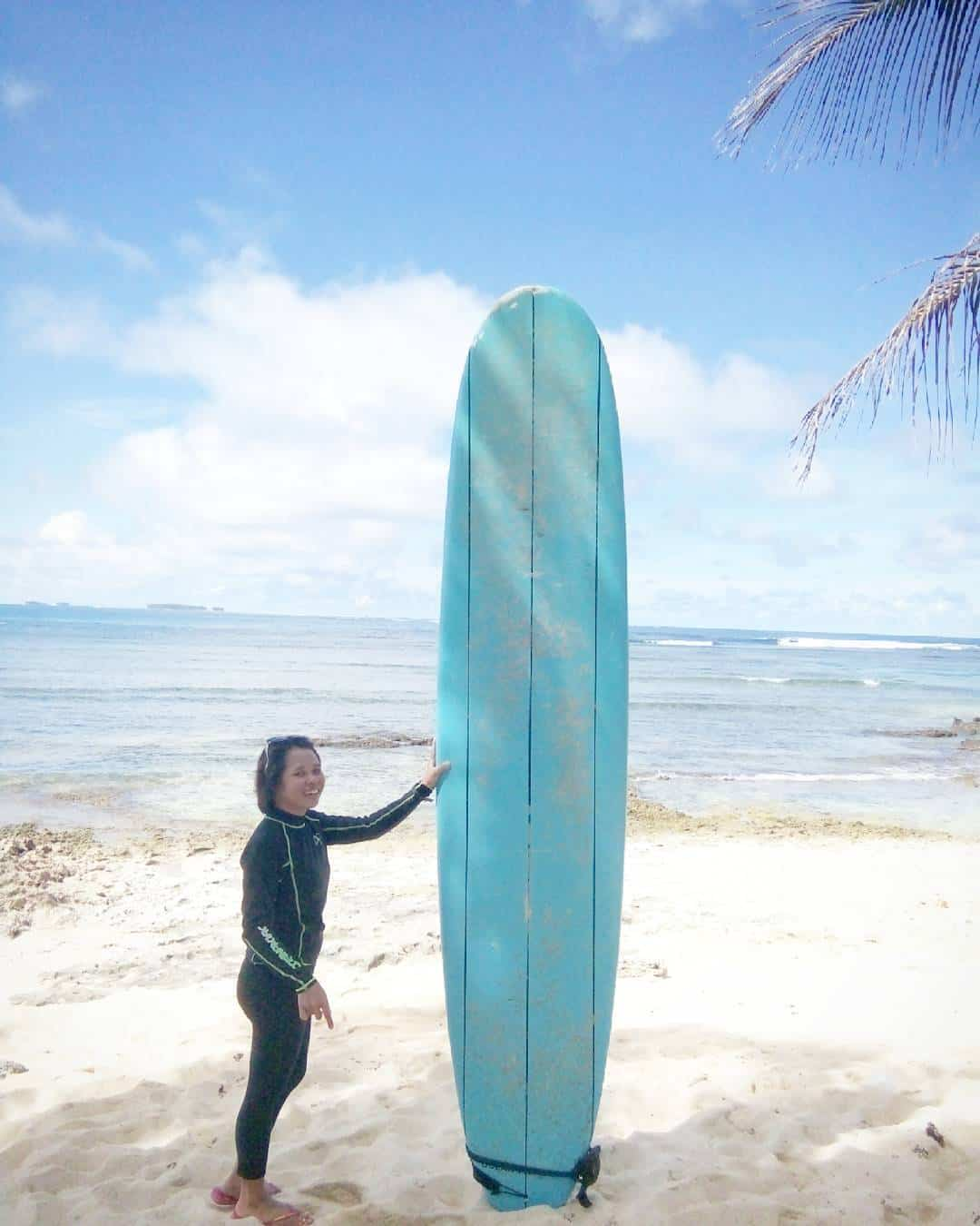 My height is half the height of the surfboard Ihellip