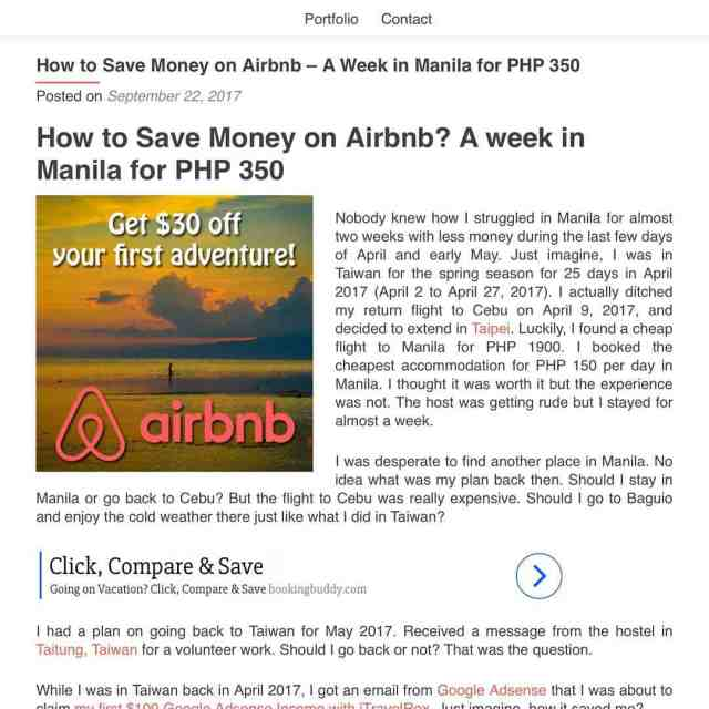 Up on the blog How to Save Money on Airbnb?hellip