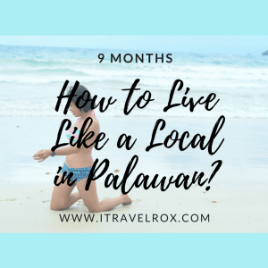 how to live like a local in palawan