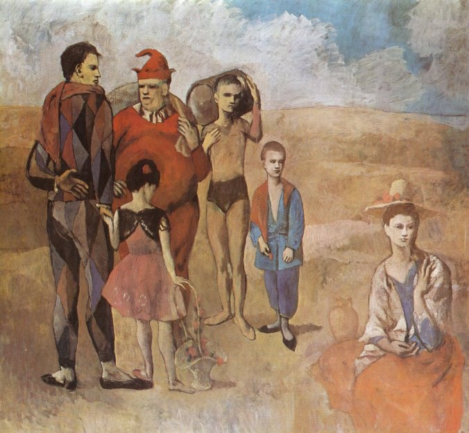 Family of Saltimbanques [1905]