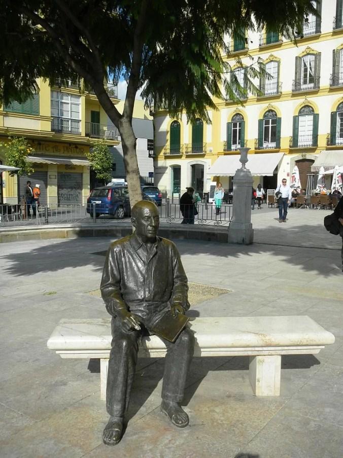 Statue of Picasso, Malaga