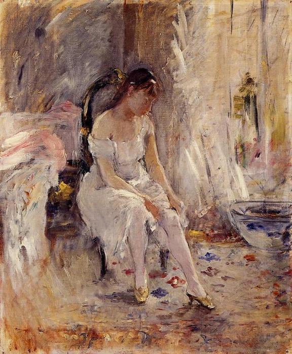 Berthe Morisot - female impressionist