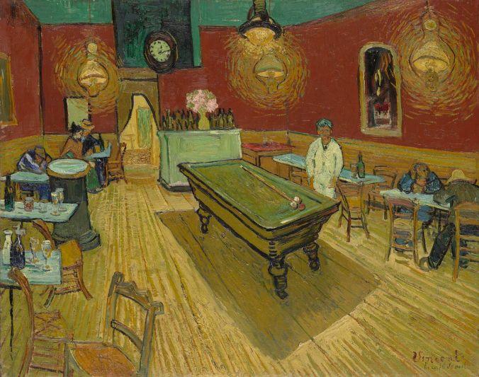 Café de la Gare (The Night Cafe) - Van Gogh Painting