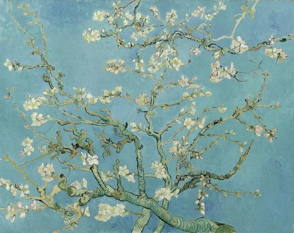 Almond Blossoms - Van Gogh painting