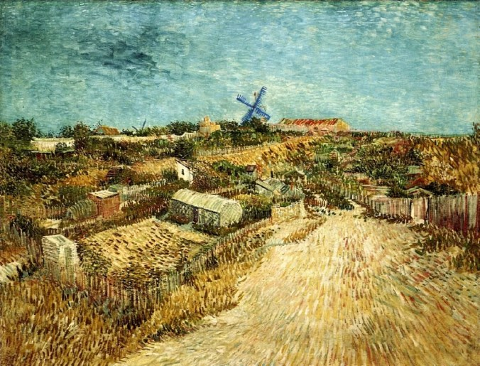 Painting of Montmartre by Van Gogh