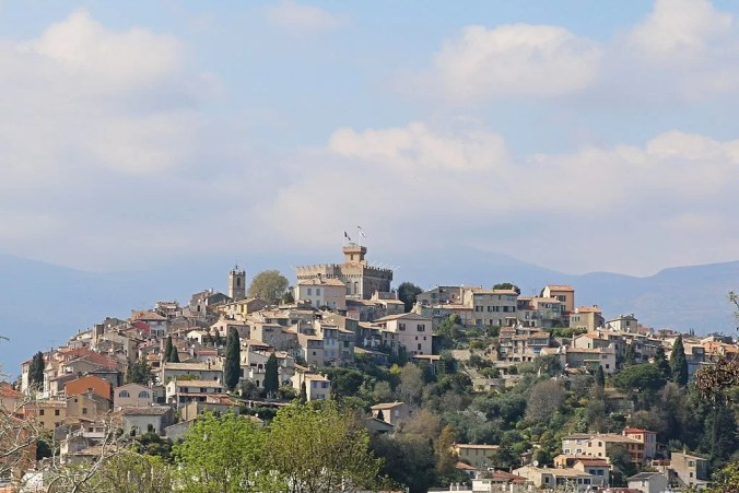 Haut de Cagnes in the French Riviera