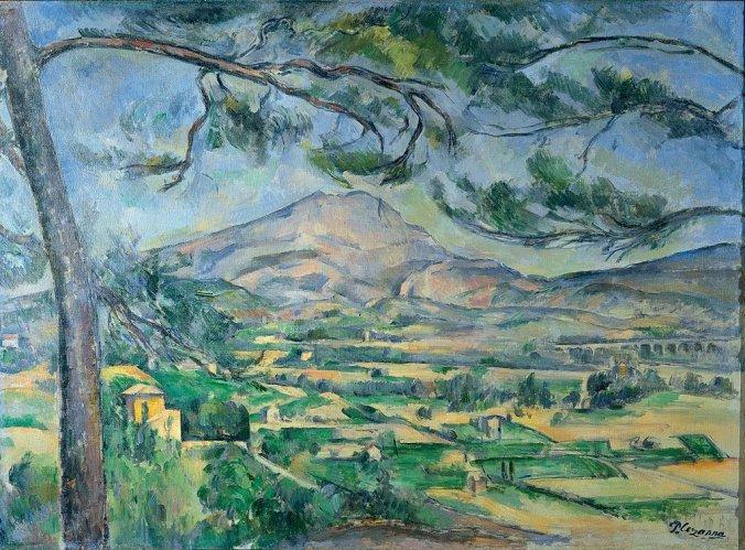 Paul Cezanne painting of Mont Sainte-Victoire