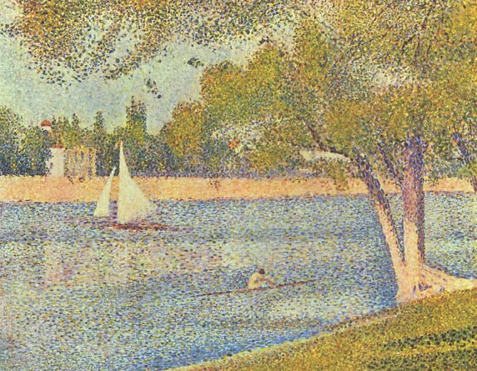 Georges Seurat pointillism painting