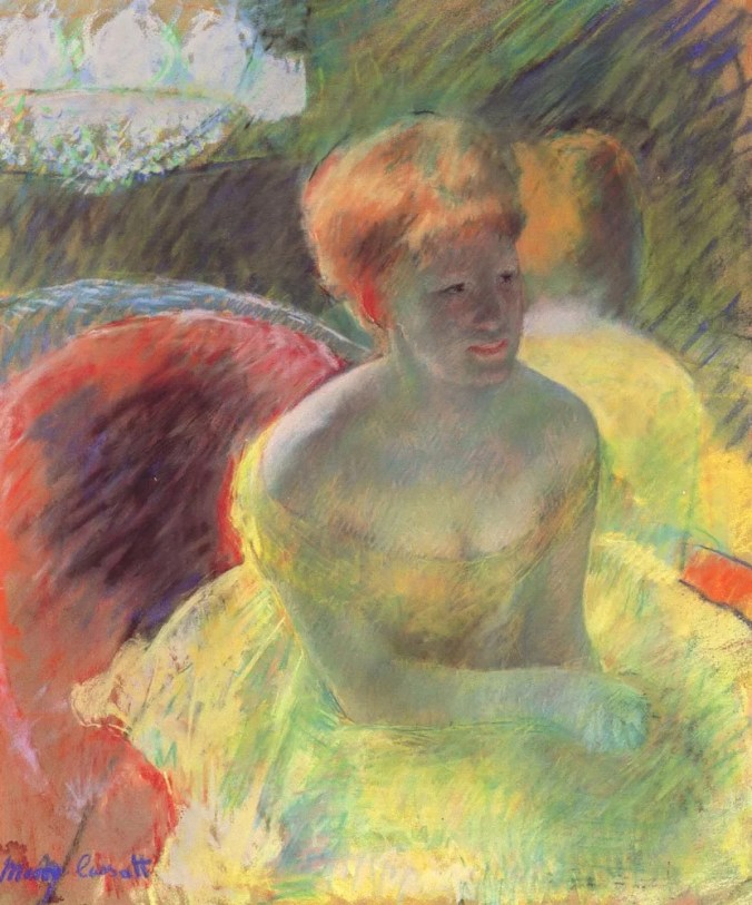 Mary Cassatt Painting of a woman