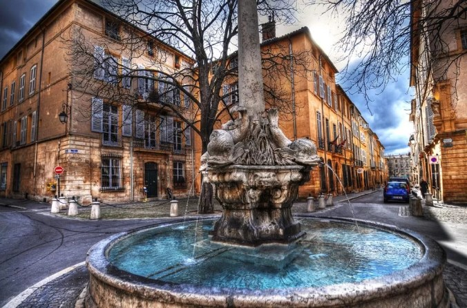 Aix en Provence - The home of Cezanne- Artist