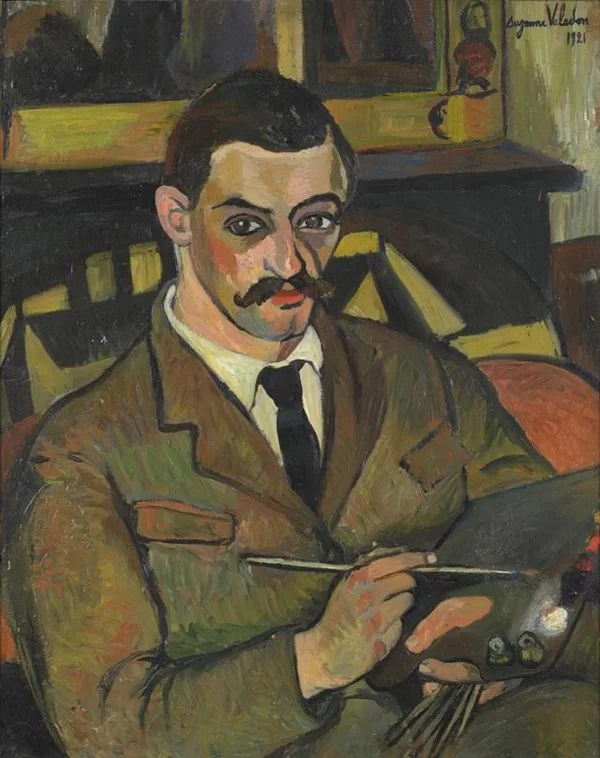 Portrait of Maurice Utrillo painted by his mother, Suzanne Valadon