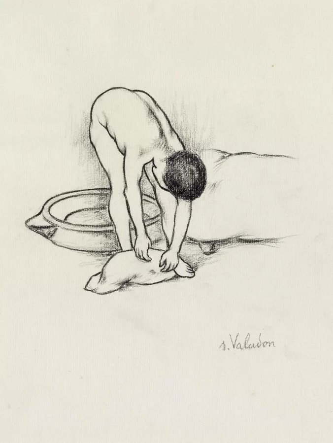 Drawing by Suzanne Valadon