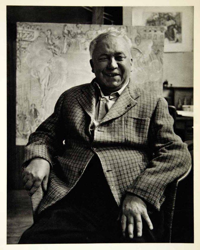 Photo of the artist Raoul Dufy