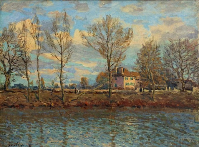 Grand Jatte Painting by Alfred Sisley