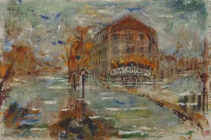 The artist Mina Carlson-Bredberg forgotten in the history of impressionism