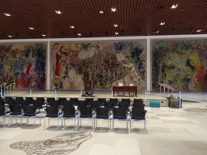 Chagall Tapestries - Knesset, Israel