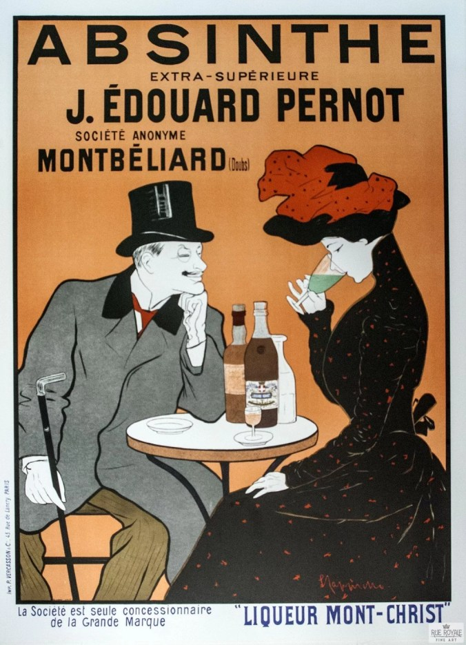 Toulouse-Lautrec poster advertising Absinthe