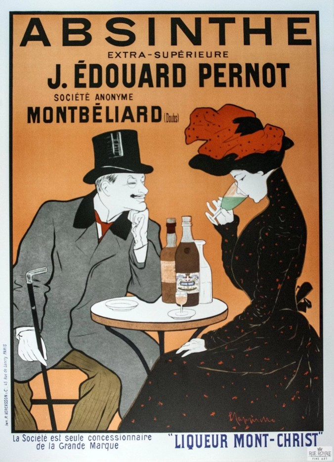 Toulouse-Lautrec Poster advertising Absinthe / Montmartre history