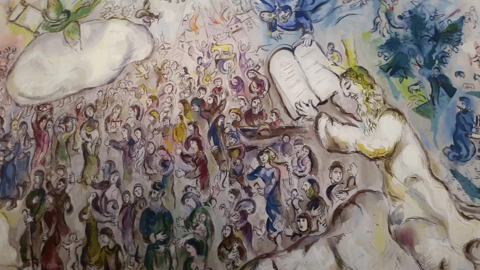 Marc Chagall Tapestry in the Knesset, Israel