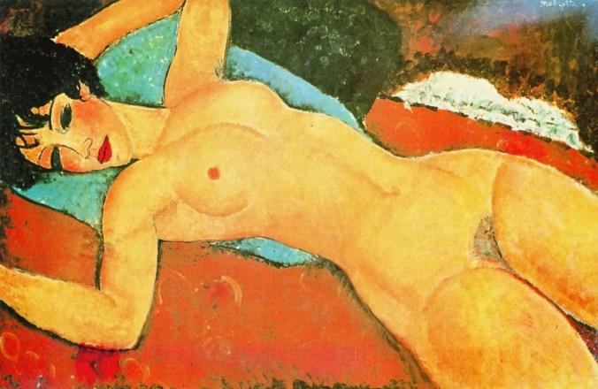 A Modigliani nude