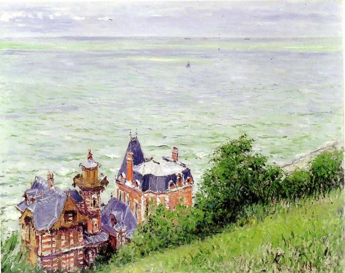 Trouville painted by Gustave Coillebotte - French artists