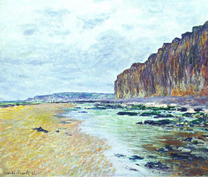 Low Tide -  Varengeville-sur-Mer, France - Monet famous paintings