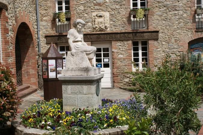 Medieval Ceret, France
