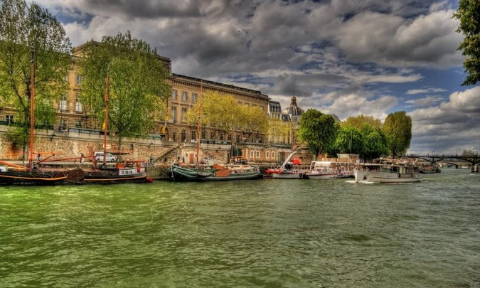 Seine River in Paris
