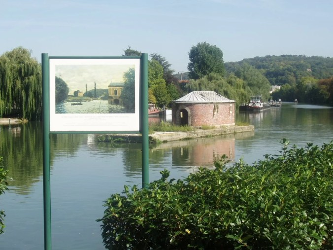 The Impressionism walking trail in Bougival - French landscapes