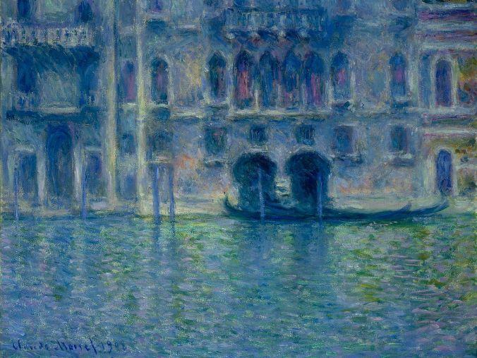 Venice Landscapes - Claude Monet Painting