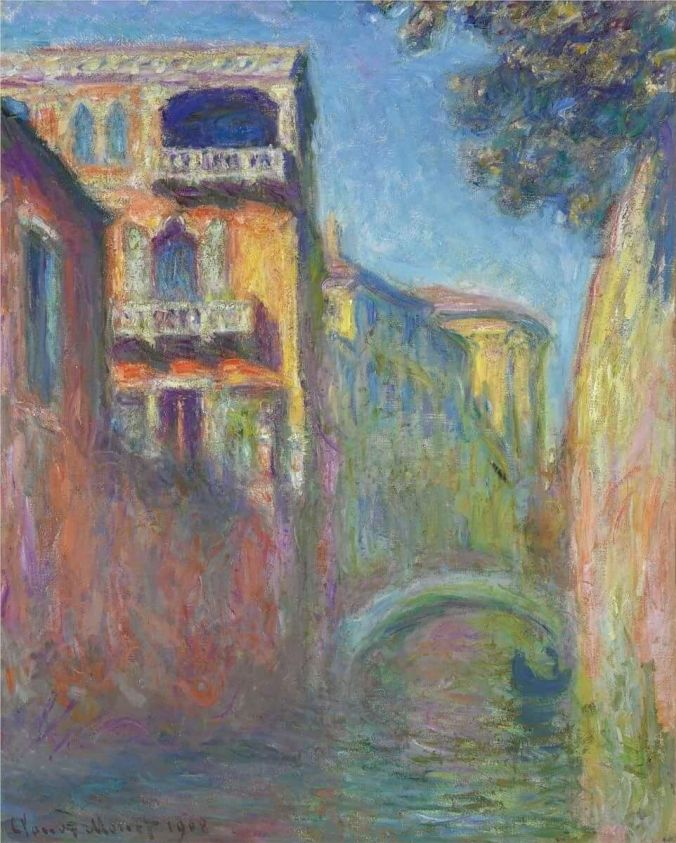 Venice Painting by Claude Monet