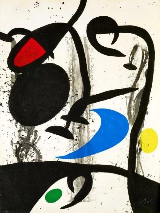 Joan Miro Exhibition:   Fondation Maeght, Saint Paul de Vence